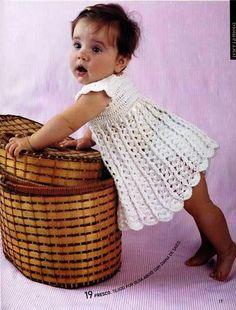 Revista tejer la moda para niños y bebes, con patrones en español para tejer