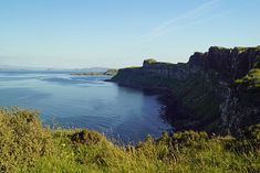 #Schottland #Scotland #landscape #landschaft #BabettsBildergalerie Land Scape, Illustration, Rock, Water, Outdoor, Pictures, Printing On Wood, Artist Canvas, Digital Art