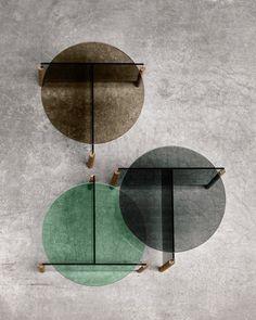 MS_PIVOT_04_glastroschdesign _foto by rasmus norlander/moritz schmid Espace Design, Design Apartment, Table Design, Coffe Table, Decorating Coffee Tables, Furniture Inspiration, Glass Design, Contemporary Furniture, Interior Architecture