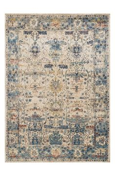 Free shipping and returns on LOLOI 'Anastasia' Area Rug at Nordstrom.com. Luminous, modern color updates the deliberately distressed traditional patterning that styles this ornate area rug—for a durable, easy-care accent piece with plenty of rich character.
