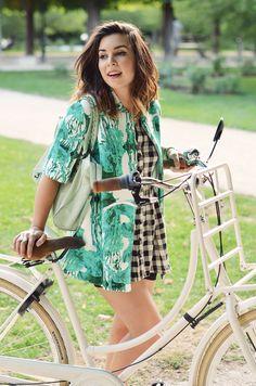 Helloitsvalentine #Anthropologie #COS #bike