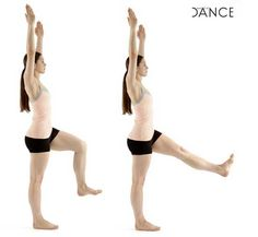 Turnout, developpé, tendu... Strengthening, stability, & muscular endurance physiotherapy exercises