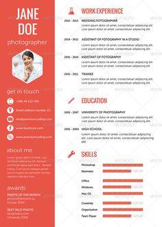 16 best resume flat ui images on pinterest resume resume cv and