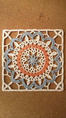 Look at turkish tiles crochet lace Manta Crochet, Crochet Mandala, Crochet Motif, Crochet Doilies, Crochet Stitches, Crochet Patterns, Crochet Edgings, Crochet Lace, Crochet Beanie Pattern