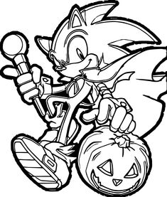 Sonic Coloring Pages 13   drawing ideas   Coloring pages, Coloring ...