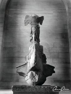 Winged Victory Statue the Louvre Paris by AnnElisaPhotoDesign, $5.00