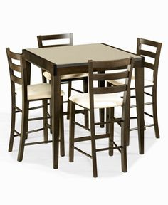 maysville counter height dining room table and barstools set of 5
