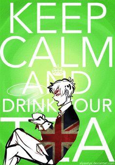 Tea <3 Hetalia England