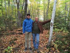 Fall Hiking in northern forests is brilliant#trees #hiking #georgianbay