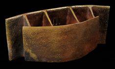 Bizen ceramists Wakimoto Hiroyuki (Japanese:1952) - Testament No. 1 - Wood-fired ceramic vase