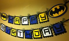 Birthday Banner Idea