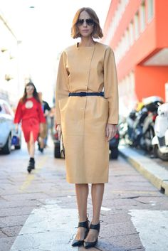 Pin for Later: All the Best Street Style From Milan Fashion Week Milan Fashion Week, Day 3 Candela Novembre.
