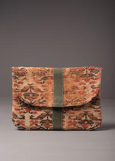 Antique Rug Tablet Pochette – J AUGUR DESIGN