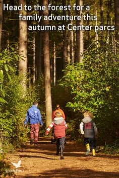 Autumn is a magical time at Center Parcs so head to the forest for a family adventure where you might spot some of our wildlife preparing for winter.