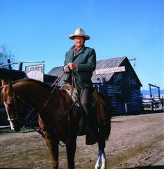 """""""Well, it looks like it's going to be another fine day."""" - JOHN WAYNE"""