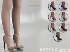 The Sims Resource: Madlen Attila Shoes by MJ95 • Sims 4 Downloads
