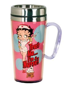 Another great find on #zulily! Betty Boop Nurse Insulated Tumbler by Betty Boop #zulilyfinds