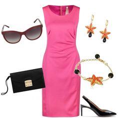 dc80989af5bc Stelle di gioielli  outfit donna Chic per cerimonia