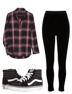 """""""Untitled #17"""" by torimiller-ii on Polyvore featuring Madewell, River Island and Vans"""
