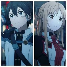 Kirito und Asuna Sword Art Online Ordinal Scale