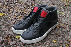 Nike LeBron X NSW Lifestyle Black/University Red