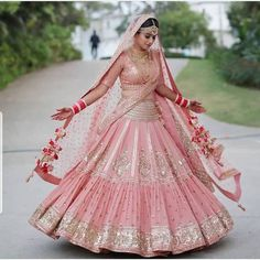 Looking for Bridal Lehenga for your wedding ? Dulhaniyaa curated the list of Best Bridal Wear Store with variety of Bridal Lehenga with their prices Pink Bridal Lehenga, Designer Bridal Lehenga, Indian Bridal Lehenga, Indian Bridal Outfits, Indian Bridal Fashion, Indian Bridal Wear, Pink Lehenga, Sabyasachi Lehenga Bridal, Wedding Lehenga Designs