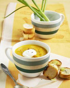 Soupe de potimarron à la citronnelle pour 6 personnes - Recettes Elle à Table