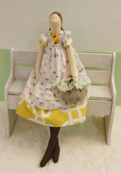 Handmade+17+Interior+Dolls+Tilda+dolls+cloth+door+QuiltNDollStory