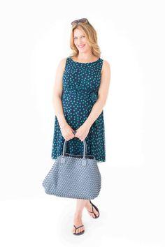 Polka Dot Chiffon dress – Belly Maternity Chiffon Dress, Maternity, Polka Dots, Collection, Dresses, Fashion, Chiffon Gown, Gauze Dress, Gowns