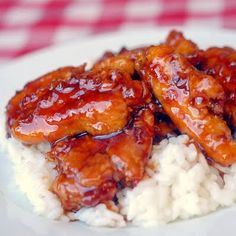 Low Fat Baked General Tso Chicken #Newfoundland, #recipes, #RockRecipes, #cooking, #food, #baking, #food #photography, #family, #meals, #StJohns Twitter: @RockRecipes