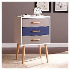 Franklin Storage Cabinet Triple Drawer - Multicolor - Southern Enterprises : Target