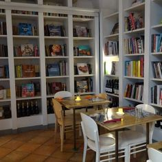 This place is such a hidden gem. A vegetarian restaurant/bar/bookshop. We advise you to book in advance as it is quite popular.
