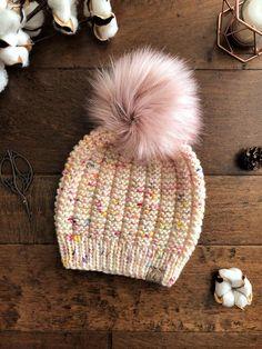 knitting hat for women \ knitting hat & knitting hat patterns free & knitting hat patterns & knitting hats for beginners & knitting hat for women & knitting hat kids & knitting hat patterns free women & knitting hat patterns free easy Knit Crochet, Crochet Hats, Crochet Pattern, Vogue Knitting, Baby Knitting, Fur Pom Pom Hat, Cable Knit Hat, Fancy Hats, Beanie Pattern