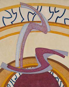 Collection Online | František Kupka. Construction No. 2. 1952–53 - Guggenheim Museum