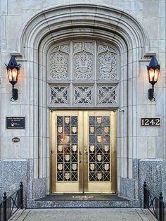 Lake Shore Drive Door - Chicago, Illinios