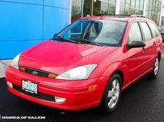 2003 ford focus wagon red - Google Search