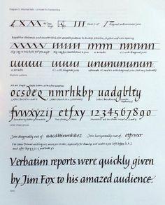 Three Ways to Improve Your Italic Calligraphy – Type Thursday – Medium