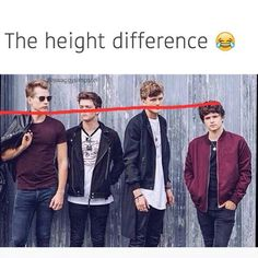 Hahaha that's why brad wishes for an extra inch of height this Christmas