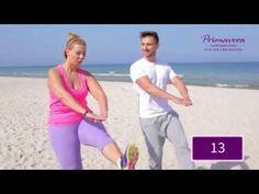 Trening na szczupłe uda i pośladki - YouTube