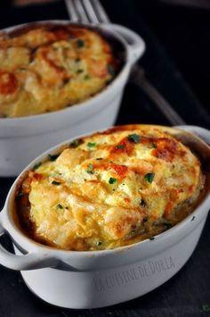 Soufflé à la viande de boeuf et petits légumes | #FrenchCuisine #FrenchFood Repin and share!