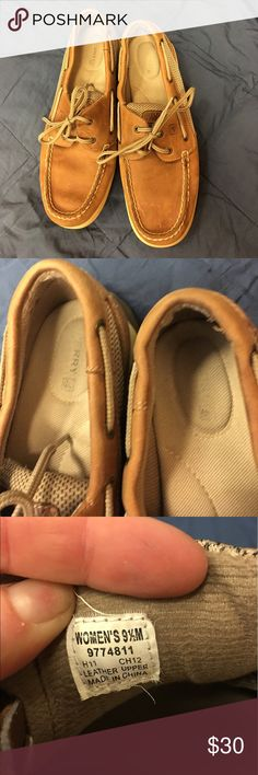 HOLD TIL 7/6/17 5pm‼️Women's sperry boat shoes 9.5 Women's sperry boat shoes size 9.5M. Super comfortable. Please see photos for level of wear. All items are from a smoke free home and will be shipped out within one business day ✨ Sperry Top-Sider Shoes Flats & Loafers