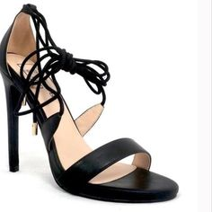 """Tamara-5 Strappy Black Heels⚡️Sale Gorgeous Black and comfy heels by ShuShop! Tamara-5 Strappy heels with 4.5"""" heel. Material: Faux Leather. Made in China. Photos by Shushop PRICE IS FIRM OFFERS NOT ACCEPTED DO NOT PURCHASE THIS LISTING. ShuShop Shoes"""