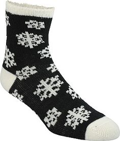 Even if you aren't snuggled up next to a cheery hearth, your feet will still be oh-so-toasty in these Sof Sole® Fireside socks for women. They're addictively soft, warm and infused with aloe to rejuvenate your tired tootsies after a long day of work or play.