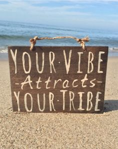 Your Vibe Attracts Your Tribe Sign / Wood Sign / Hippie Sign / Bohemian Decor / Hippie Decor / Gypsy Decor / Bohemian Wall Decor x Bohemian Wall Decor, Gypsy Decor, Bohemian Gypsy, Boho Room, Bohemian Beach, Bohemian Living, Bohemian Fashion, Good Quotes, Life Quotes Love