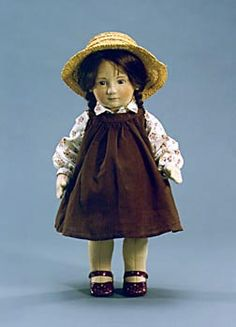 "Becky: 17"" molded felt, fully jointed. Date of Release: 1981-84. Series I, Ltd. Ed. 250."