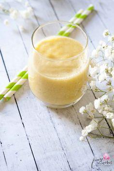 Smoothie exotique au lait d'amande, mangue et miel… In smoothie we trust !! http://poiretcactus.com/smoothie-exotique-au-lait-damande-mangue-et-miel-in-smoothie-we-trust/