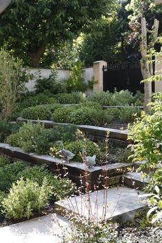 Création d'un jardin sur 3 niveaux, Olivier Bedouelle - Côté Maison