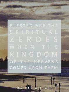Spiritual zeroes