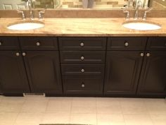 Rustoleum Cabinet Transformation - Kona I'd be interested to see ...