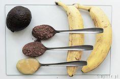 Nutella z awokado i bananów